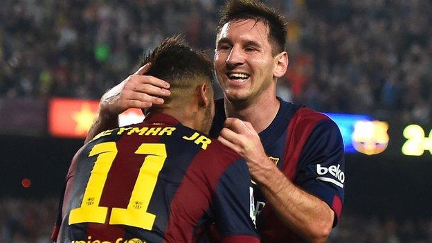 Barcelona 3 0 Eibar Bbc Sport