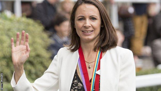 Jo Pavey at Ascot