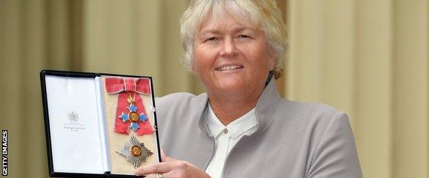 Dame Laura Davies