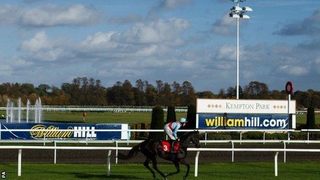 Kempton racecourse