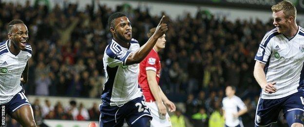 Stephane Sessegnon of West Brom
