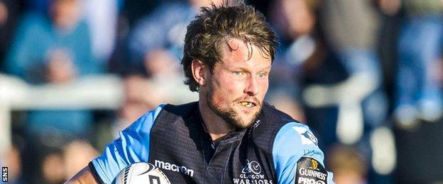 Glasgow Warriors full-back Peter Horne