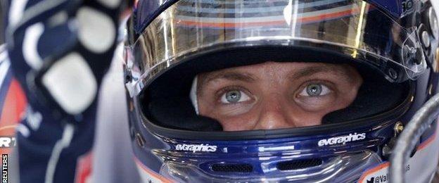 Formula One driver Valtteri Bottas