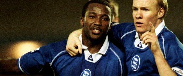 Ex-Birmingham City defender Michael Johnson