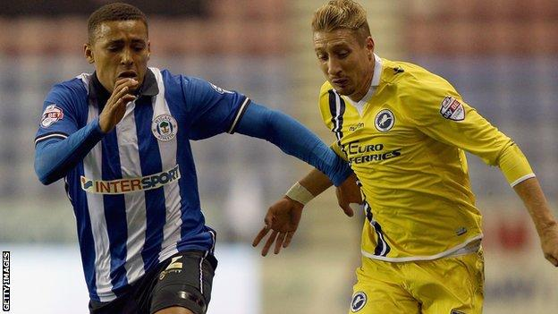 Wigan and Millwall draw 0-0