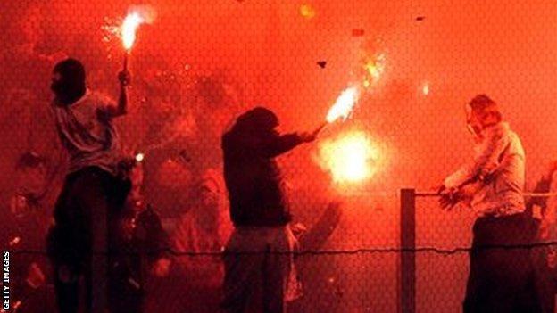 Olympiakos v Panathinaikos