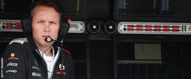 McLaren sporting director Sam Michael