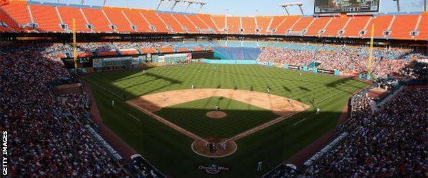 Sun Life Stadium in Miami