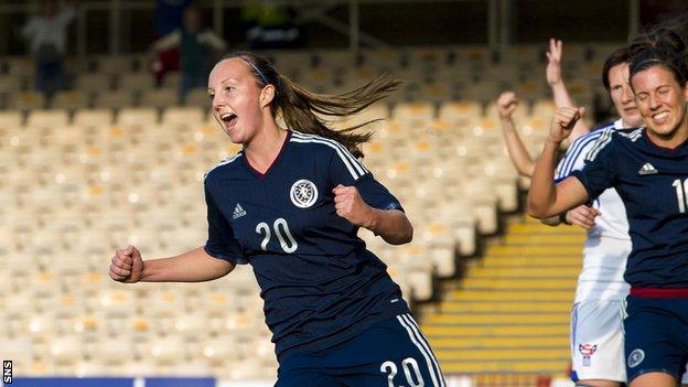 Scotland's Caroline Weir