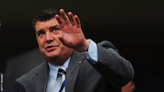 Chelsea chief executive Ron Gourlay