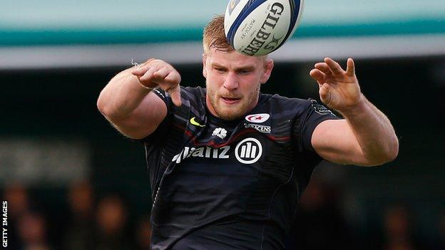 George Kruis of Saracens