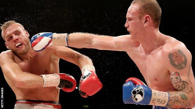 George Groves beats Christopher Rebrasse