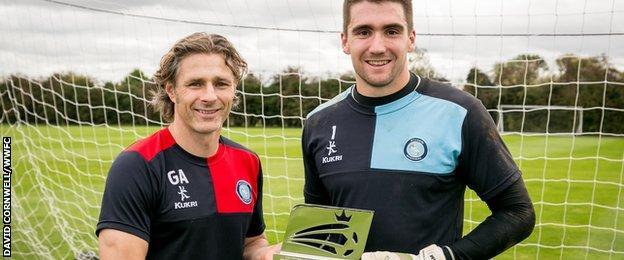 Gareth Ainsworth and Matt Ingram