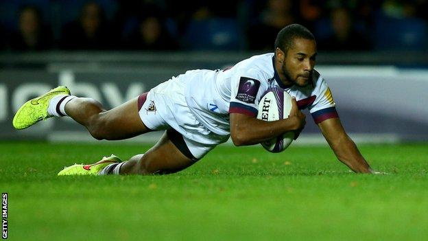 Darly Domvo scores for Bordeaux-Begles