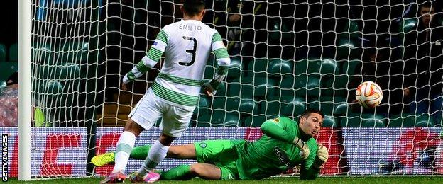Craig Gordon denies Astra a goal