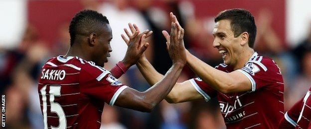 Diafra Sakho and Stewart Downing have both been in impressive form this season