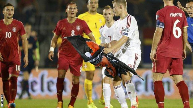 Serbia-Albania match