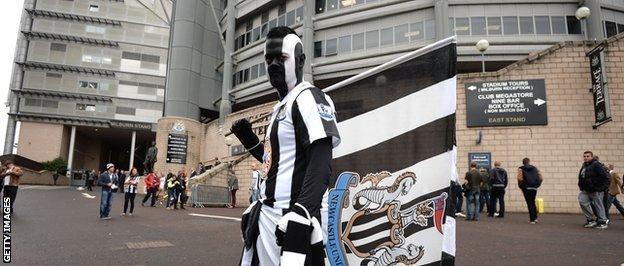 A Newcastle United fan