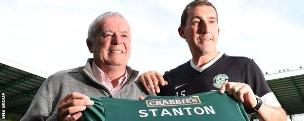 Pat Stanton celebrated his 70th birthday at Easter Road last month