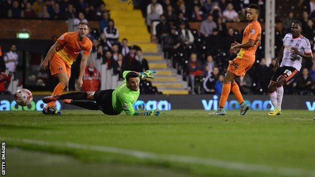 Hugo Rodallega scored twice as Fulham beat Charlton