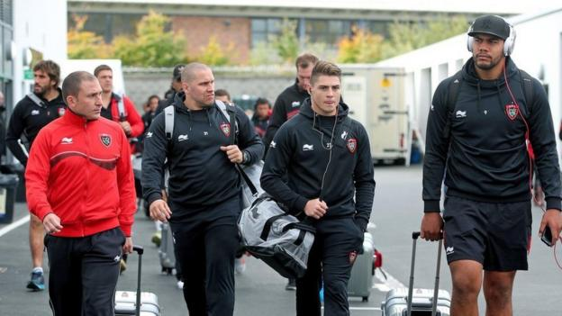 The star-studded double European champions from Toulon arrive at the Kingspan Stadium for the Champions Cup Pool 3 match