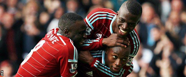 West Ham v Manchester City