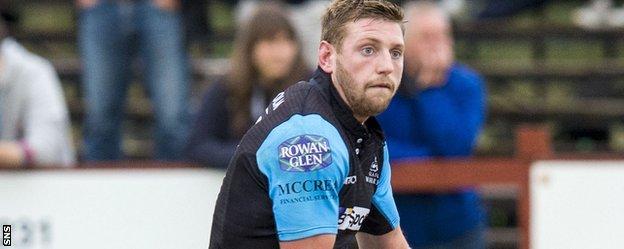 Glasgow's Finn Russell