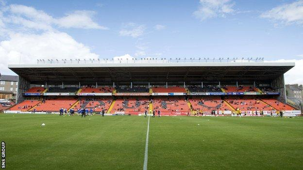 Tannadice Park - home of Dundee United