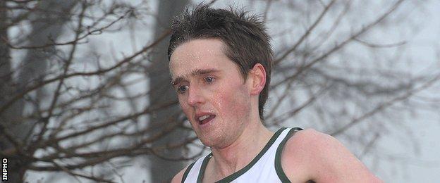 Annadale Striders athlete Eddie McGinley