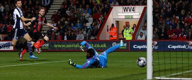 Eunan O'Kane scored his first goal of the season four minutes after the break