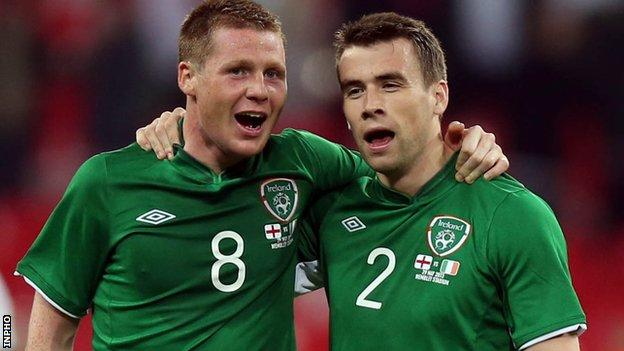 James McCarthy and Seamus Coleman