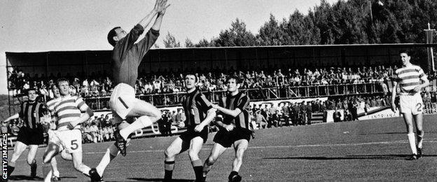 Celtic vs Lisbon, 1967 European Cup final