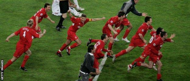 Liverpool win the Champions League in Istanbul