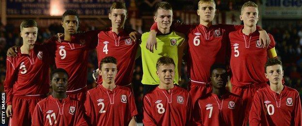 Wales U16s 2013