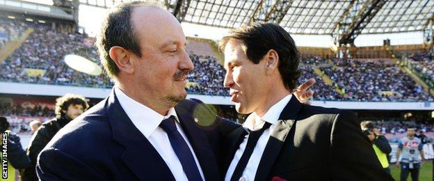 Rafael Benitez and Rudi Garcia