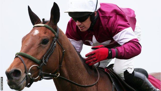 Paul Carberry won the Champion Chase on Road to Riches