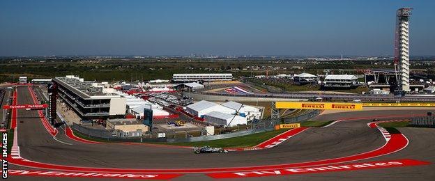 US Grand Prix, Austin, Texas