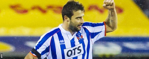 Alexei Eremenko gave the hosts hope but Dundee added a third to secure the three points