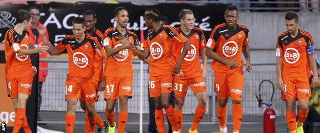 Lorient goal