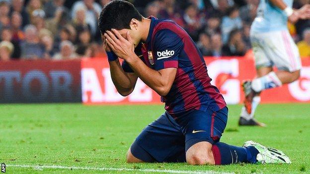 Barcelona 0 1 Celta Vigo Bbc Sport