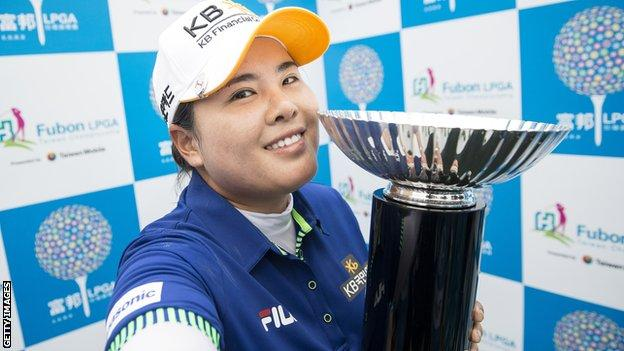 Inbee Park won her 12th career title at Miramar Golf Course