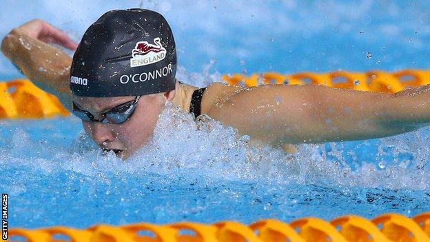 Siobhan-Marie O'Connor in action