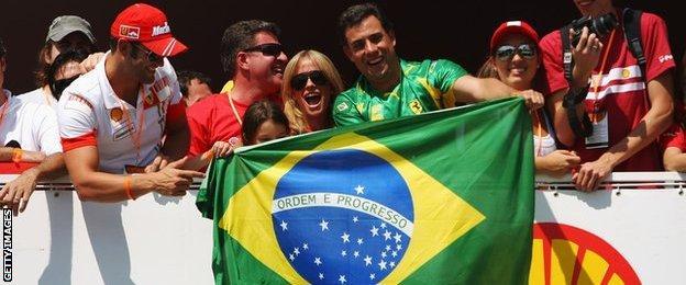 Brazilian Grand Prix at Interlagos