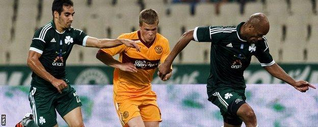Stuart McCall led 'Well into the Champions League qualifiers in 2012, where they faced Panathinaikos