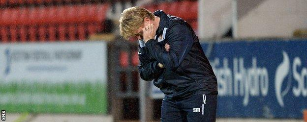 Stuart McCall was left devastated after seeing his Motherwell side beaten 2-1 by St Johnstone