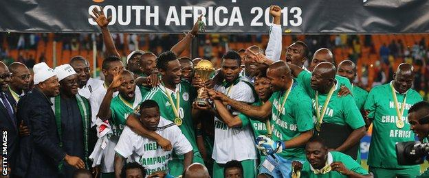 Nigeria won 2013 Africa Cup of Nations