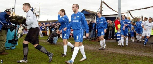 Chasetown in 2005