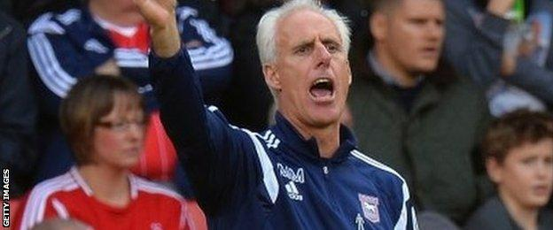 Mick McCarthy, Ipswich manager