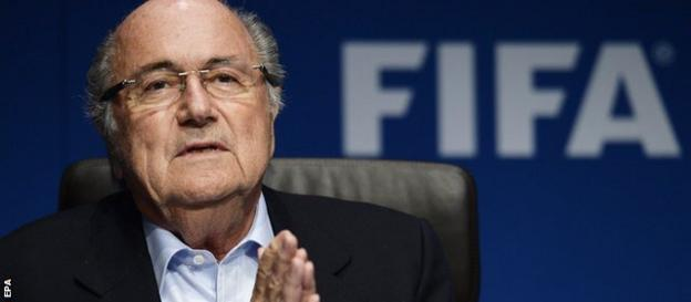 Fifa president Sepp Blatter agreed not to stage the 2022 World Cup at the same time as the Winter Olympics
