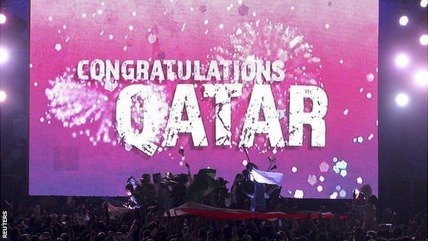 Qatar celebrates its successful bid